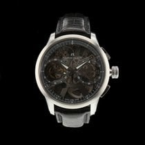Maurice Lacroix Masterpiece Squelette new 2010 Manual winding Chronograph Watch with original box MP7128