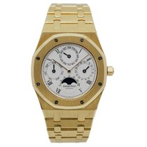 Audemars Piguet Royal Oak Perpetual Calendar Oro amarillo 39mm Azul