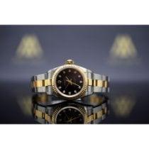 Rolex Oyster Perpetual Altın/Çelik 26mm Siyah