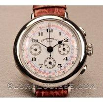 Eberhard & Co. Silber 38mm Chronograph 311100 gebraucht Schweiz, Morcote