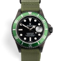 Rolex 16610LV Steel 2006 Submariner Date 40mm pre-owned United Kingdom, London