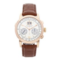 A. Lange & Söhne Datograph Rose gold 39mm Silver Roman numerals United States of America, Pennsylvania, Bala Cynwyd