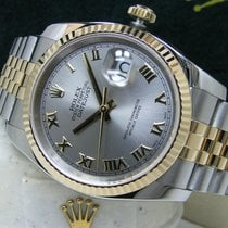 Rolex Datejust Gold/Steel 36mm Grey Roman numerals United States of America, Pennsylvania, HARRISBURG