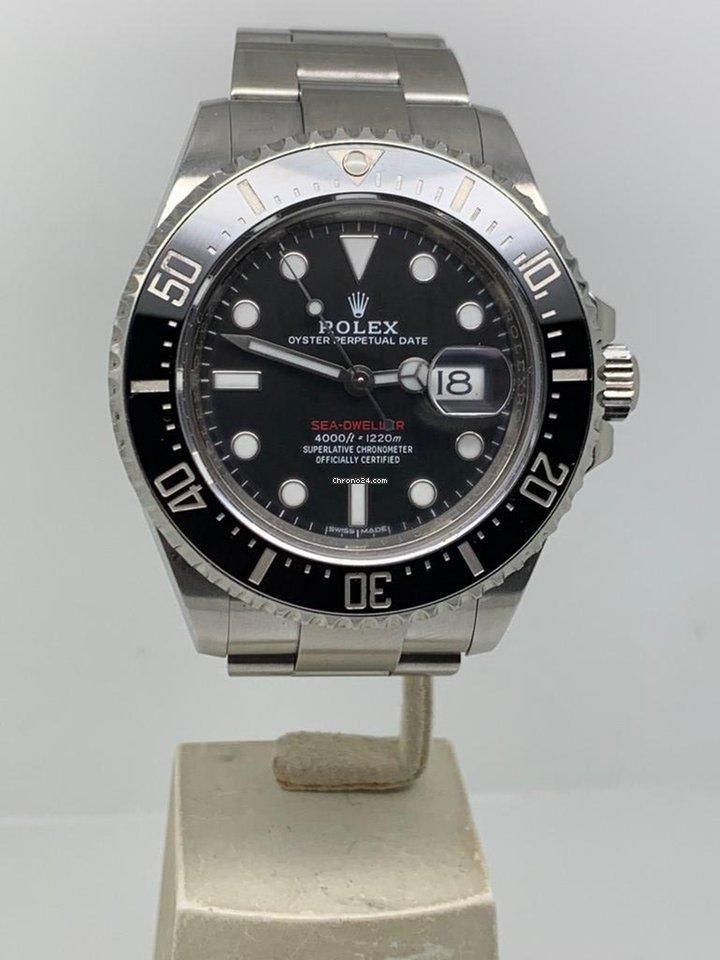 Rolex Sea Dweller Red 50th Anniversary Full Set Like New