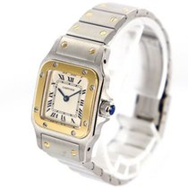 Cartier Santos Galbée Steel 23.5mm White
