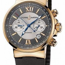 Ulysse Nardin Marine Chronograph 356-66 подержанные
