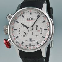 Edox Steel 45mm Quartz 10302-3-AIN pre-owned