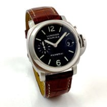 Panerai Luminor Marina Automatic Сталь 40mm Чёрный Aрабские