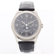 Patek Philippe Annual Calendar White gold 39mm Grey Arabic numerals United Kingdom, Brighton
