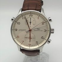 IWC Portugieser Chronograph Stahl 41mm Silber Arabisch Österreich, Wien