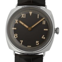 Panerai White gold Manual winding Brown 47mm new Special Editions