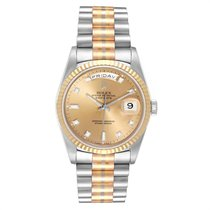 Rolex Day-Date 36 Ouro branco 36mm Bronze