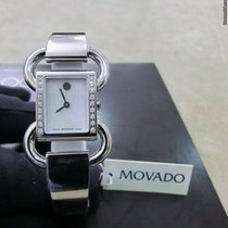 Movado Linio Staal Parelmoer