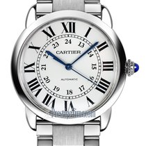 Cartier Ronde Croisière de Cartier Steel 36mm Silver United States of America, New York, Airmont