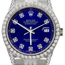 Rolex Datejust Acier 31mm Bleu
