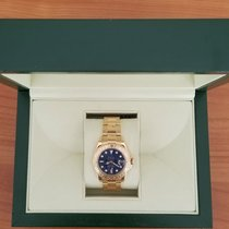 Rolex Yacht-Master 18K Yellow Gold Bue Dial