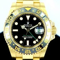 롤렉스 (Rolex) GMT-Master II Ref 116718LN 18K Yellow Gold Black Dial