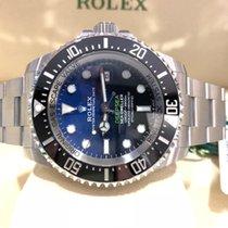 Rolex Sea-Dweller Deepsea D-Blue James Cameron NEW MOD. 126660...