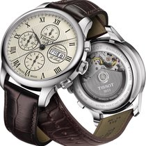 Tissot Le Locle gebraucht 42mm Stahl
