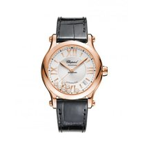 Chopard Happy Sport 274808-5001 New Rose gold 36mm Automatic