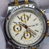 Sector Sector Chrono Automatic Oversize Gold/Steel 44mm 100M 2000 pre-owned