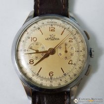 Lemania Chronograph cal 1270 37mm 1950s Watch pre 320