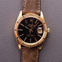 Rolex Oyster Perpetual Date Gelbgold 34mm Schwarz Deutschland, Düsseldorf