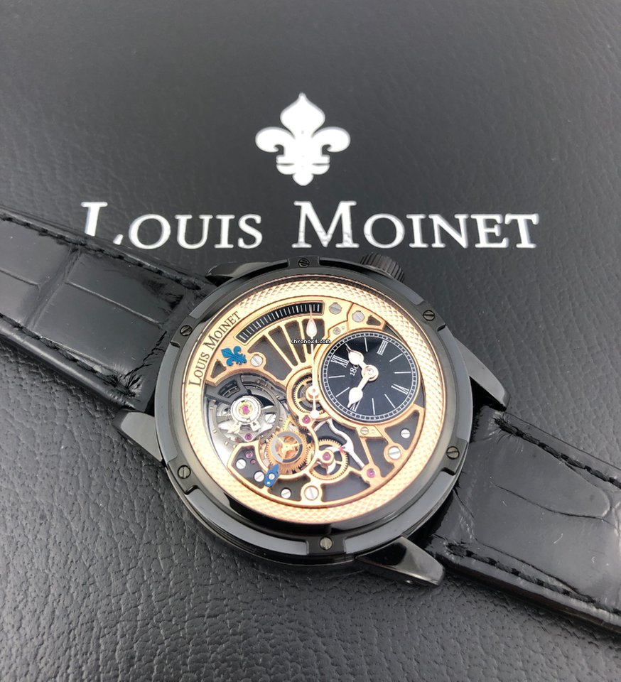 Louis Moinet Tempograph LM-39.20N.50 2020 new