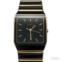 Rado 27mm Quartz pre-owned Diastar Black