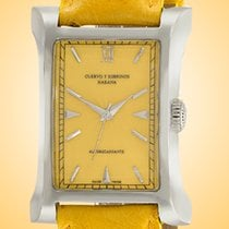 Cuervo y Sobrinos Steel 32mm Automatic 2012.1YG new