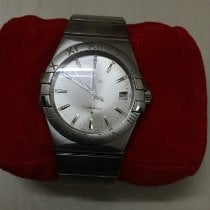 Omega Constellation Quartz Steel 35mm Silver India, Bangalore