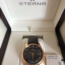 Eterna Rose gold 43mm Automatic Rose gold black dual pre-owned United Kingdom, Salford