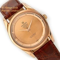 Universal Genève Rose gold 34mm Automatic pre-owned