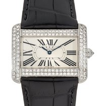 Cartier Tank Divan White gold 38mm White Roman numerals United States of America, New York, Los Angeles