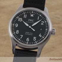 IWC Pilot Mark Steel 40.5mm Black