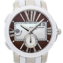 Ulysse Nardin Executive Dual Time Lady Steel 40mm Brown United States of America, New Jersey, Princeton