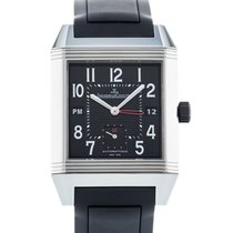 Jaeger-LeCoultre Reverso Squadra Hometime Steel 35mm Black United States of America, Georgia, Atlanta