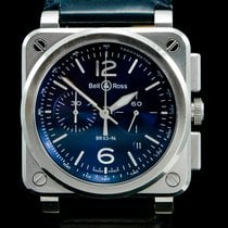 Bell & Ross BR 03-94 Chronographe BR0394-BLU-ST/SCA 2017 pre-owned
