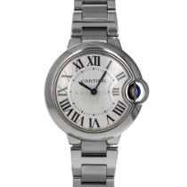 Cartier Ballon Bleu 33mm pre-owned 33mm Silver Steel