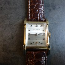 Wittnauer Good Yellow gold 37mm Manual winding