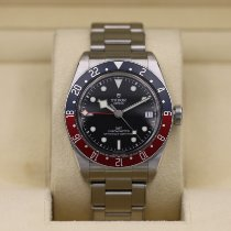 Tudor pre-owned Automatic 41mm Black Sapphire Glass 20 ATM