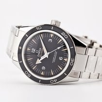 Omega Seamaster 300 Steel 41mm Black Arabic numerals