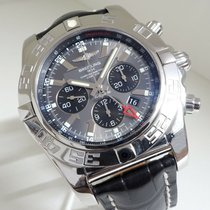 Breitling Chronomat GMT Steel 47mm Grey