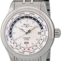 Ball Trainmaster Worldtime GM2020D-SCJ-WH 2010 new
