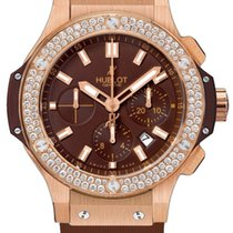 Hublot Rose gold Automatic Brown Arabic numerals 44mm new Big Bang 44 mm