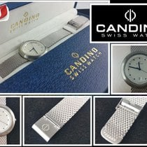 Candino Steel 38mm Quartz 25140081 new
