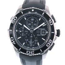 TAG Heuer CAK2110 Steel Aquaracer 500M 44mm pre-owned