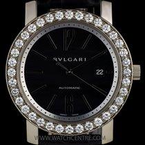 Bulgari 18k White Gold Diamond Bezel B&P BBW42C5GDLDAUTO