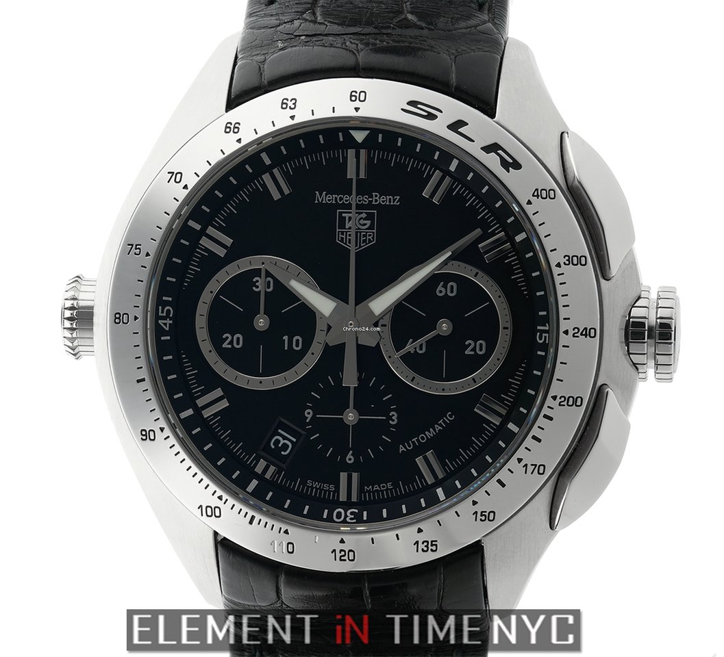 tag heuer slr mercedes benz limited edition chronograph for 2 875 for sale from a trusted. Black Bedroom Furniture Sets. Home Design Ideas