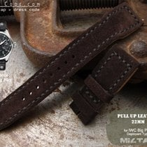 IWC MiLTAT IWC Big Pilot Replacement Band, Brown Suede